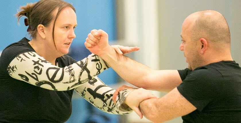 Wing Chun Vrouw